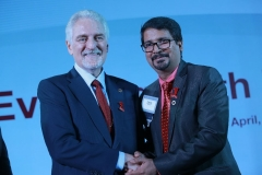 Manoj Jain with Dr. Ivan Misner, Founder & Chairman of BNI (Business Network International) and Father of Modern Networking, Networking Guru on 10 May 2017