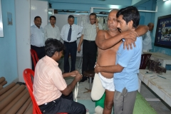 At Artificial Limb & Caliper Camp at Howrah Jain Hospital