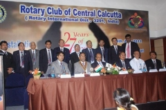As Hony. Secretary - Rotary Club of Central Calcutta