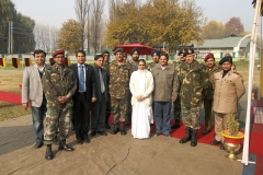 Kashmir Tour : Free Eye Operation Camp organised by Rotary Club of Central Calcutta in association with Indian Army & Brahamakumaris, Mt. Abu at Srinagar. Myself & Mr. Sanjay Ganeriwala were hosted by Indian Army