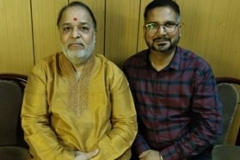 "With Shri Ashwin Joshi, dayro maestro, India's No.1 Dayro Singer. Show title: ""Ma Bap Ne Bhulna Nahi. 29th July 2018"