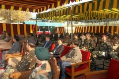 Kashmir Tour : Free Eye Operation Camp organised by Rotary Club of Central Calcutta in association with Indian Army & Brahamakumaris, Mt. Abu at Srinagar.