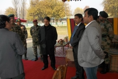 Kashmir Tour : Free Eye Operation Camp organised by Rotary Club of Central Calcutta in association with Indian Army & Brahama-kumaris, Mount Abu at Srinagar. (Camp Inauguration Program)