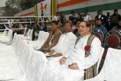 At Republic Day Parade, Kolkata
