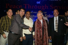 With Rotary International / World President - Sakuji Tanaka - 20 March 2013  &  PRID Shekhar Mehta and other Rotarians