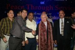With Rotary International / World President - Sakuji Tanaka - 20 March 2013  &  PRID Shekhar Mehta and other Rotarians