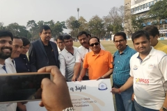 At Compass (Computer Association of Eastern India) -CSR Activity during  Cricket Tournament