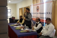 Oath Taking Ceremony as Working President of Mahasamiti