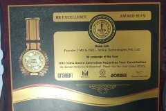 Recognition from HRD India