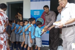 At Rotary (RSK) School, Near Joka, Kolkata