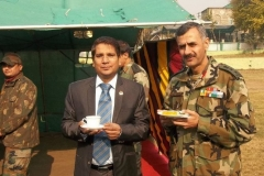 at Srinagar @ Indian Army Cantonment